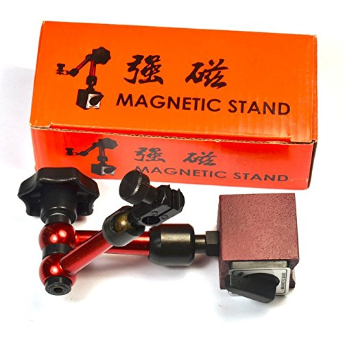 Mini Magnetic Base Holder Stand Metric 3 Joint for Dial Test Indicator DIY Tool