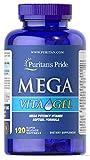 Cheap Puritan's Pride Mega Vita Gel-120 Softgels