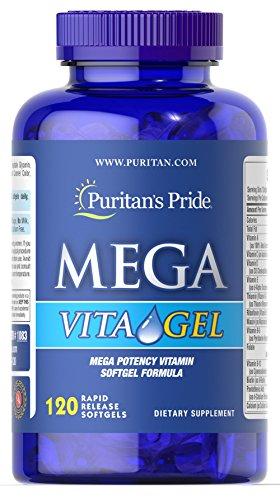 (Puritan's Pride Mega Vita Gel-120 Softgels)