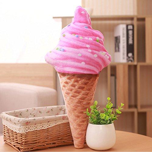 LEITSA- Simulación creativa almohadilla de helado 3D Cojines ...