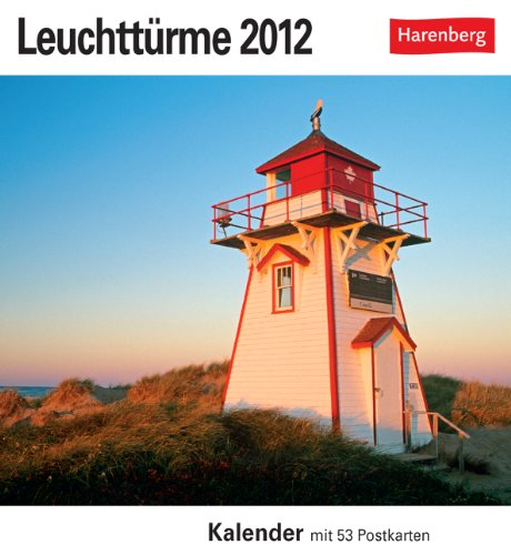 Leuchttürme 2012. Postkartenkalender: 53 Postkarten