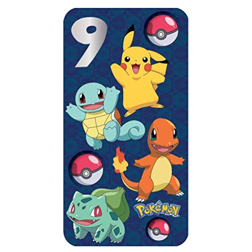 Pokemon 9th Birthday Card
