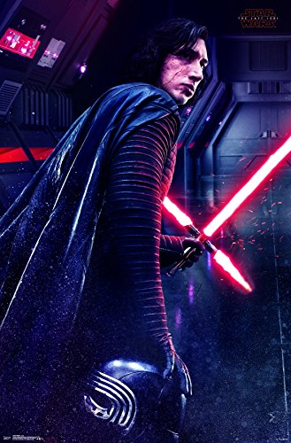 Trends International Star Wars: The Last Jedi - Kylo Wall Poster, 22.375