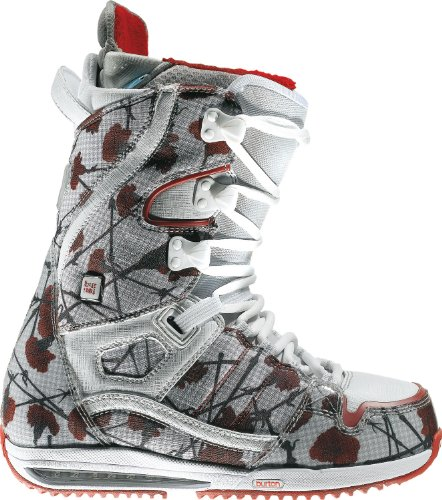 - Burton Sapphire Snowboard Boots Flowers On Canvas Womens Sz 5