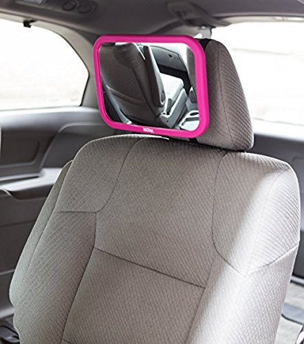 Nuby Back Seat Baby View Mirror, Pink by Nuby (Image #5)