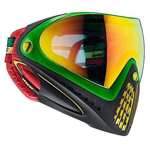 Dye i4 Paintball Goggles w/Thermal Lens - Rasta
