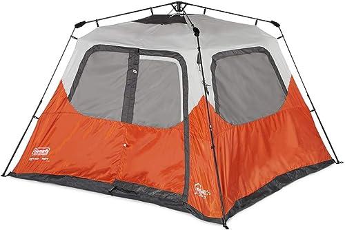 Coleman New Outdoor Camping Waterproof 6 Person Instant Tent – 10 x9 Foootprint