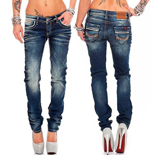 bleu bleu Jeans Relaxed Baxx Femme Modell amp; Cipo 26 EYSUxwXE