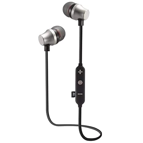 yenjos Cable Unidad de in-Ear Bluetooth Headset Stereo sweatpr Impermeable Sueltos, Auriculares Bluetooth