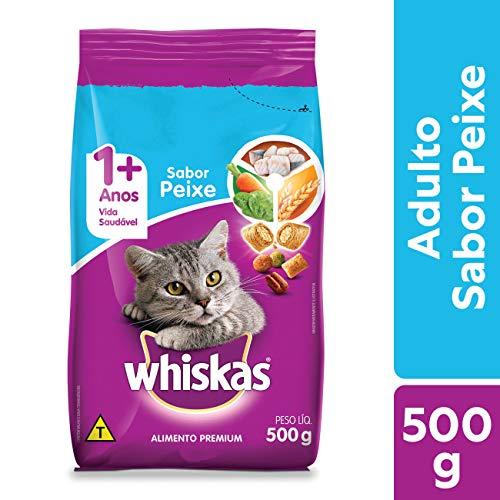 Ração Para Gatos Whiskas Peixe Adultos 500g