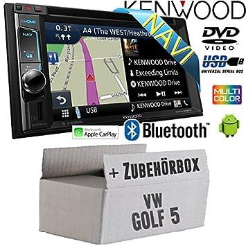Kenwood DMX110BT Radio 2 DIN für Skoda Fabia 5J schwarz mit Canbus