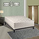 Spinal Solution, Twin Size Assembled Orthopedic Mattress With 4-Inch Box Spring Sensation Collection