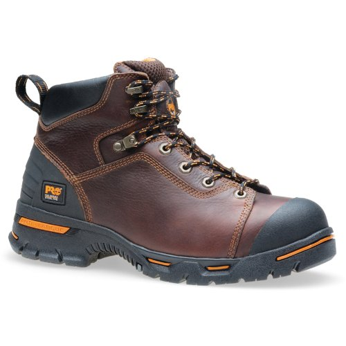 Timberland PRO Men's Endurance 6-Inch Soft Toe BR Work Boot,Briar,11 W US (Soft Toe Slip)