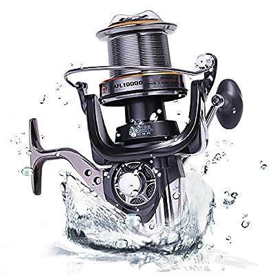 Sougayilang AFL10000 Big Spool Casting Spinning Fishing Reels Saltwater Boat Rock Fishing Reel 10+1bb 4.7:1