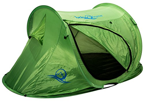 (Lucky Bums Quick and Portable Camp Tent,)
