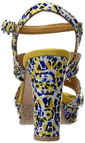 19719 Audley Giallo Donna Amarillo Con Plateau Sandali yellow dTwzST
