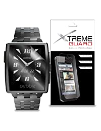 XtremeGuard™ Screen Protector for Pebble Steel Smartwatch (Ultra Clear)