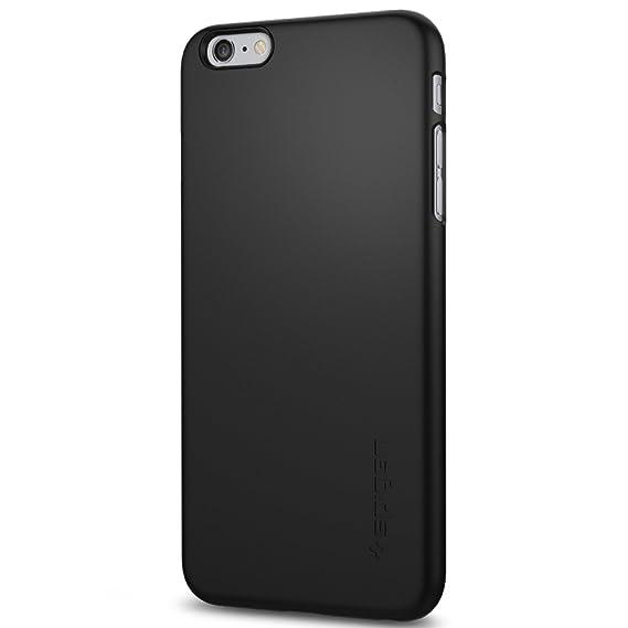 best service bb12c e9966 iPhone 6s Plus Case, Spigen [Thin Fit] Exact-Fit [Black] Premium Matte  Finish Hard Case for iPhone 6s Plus (2015) - Black (SGP11638)