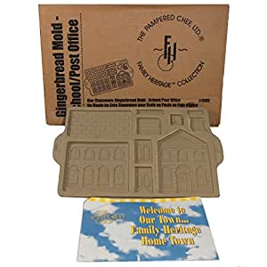 Amazon Com 1997 Pampered Chef Gingerbread House Mold
