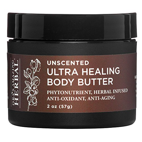 Ultra Softening Body Butter - Ultra Healing Shea Hand and Natural Body Butter, Unscented, Fragrance Free Moisturizer, Paraben Free, Made In The USA with Organic Shea Butter, Calendula, Rosehip Seed, Meadowfoam, Absorbs Beautifully