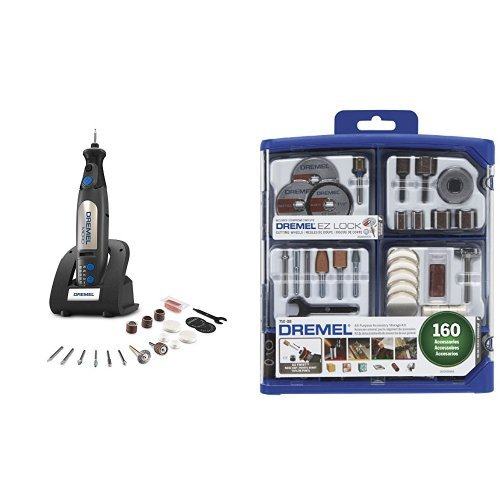 Dremel 8050-N/18 Micro Rotary Tool with 160-Piece Accessory Kit