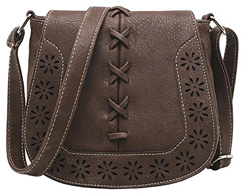 Hobo Saddle Leather Handbags - 6