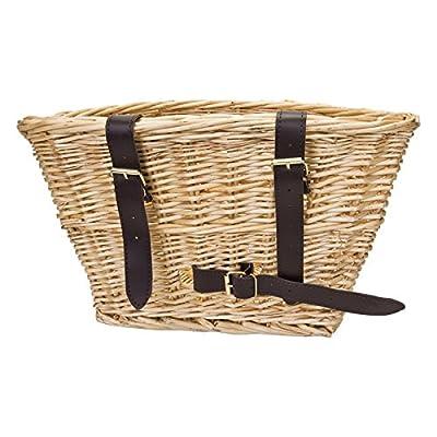 Sunlite Classic Willow Basket, 14 x 10 x 8.5, Natural : Bike Baskets : Sports & Outdoors