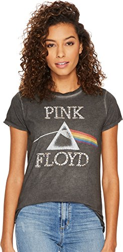Lucky Brand Women's Pink Floyd Studded Tee Lucky Black - Friday Brands Black Sale