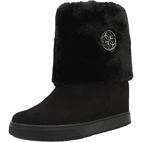 Botas de Pelo con cuña Interior GUESS (37 Negro): Amazon