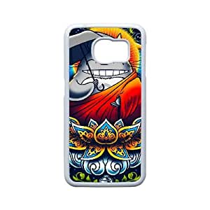 Generic for Samsung Galaxy S6 Edge Cell Phone Case White My Neighbor Totoro Custom HHGKAOJFD1892