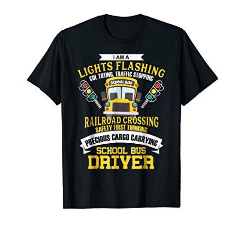 Funny Bus Driver Driving Shirt Men School Bus Driver Gifts