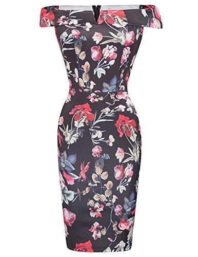 50s pencil dress vintage - 6