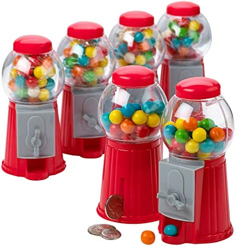 Novelties Gift Christmas Galaxy Candy Dispenser 9.75 Twirling Gumball Machine for Kids Party Favor and Supplies KCO Brands Kiddie Parties Kitchen Buffet Perfect for Birthdays