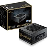 FSP Dagger 600W Mini ITX Solution / SFX 12V / Micro ATX 80 Plus Gold Certified Full Modular VR / 4K Ready Gaming Power Supply (SDA600)