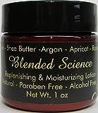 Natural Vegan Face Cream Argan Oil Replenishing & Moisturizing Lotion Daily Use No Parabens No Alcohol No Harsh Chemical Cruelty Free 1oz