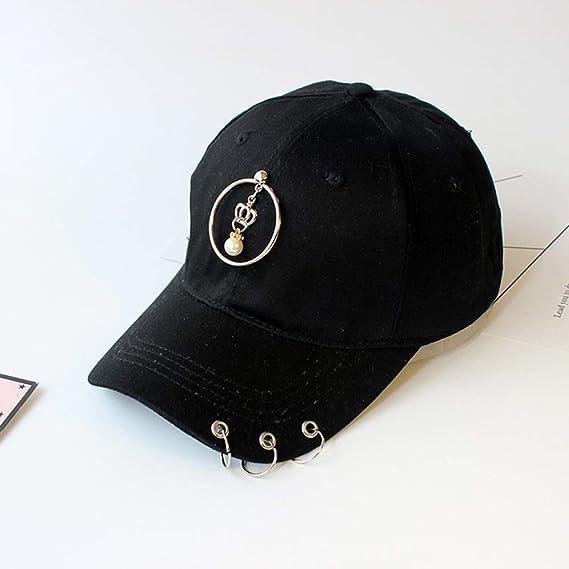 Sombrero Moda Femenina Metal Estrella de Cinco Puntas Gorra de ...