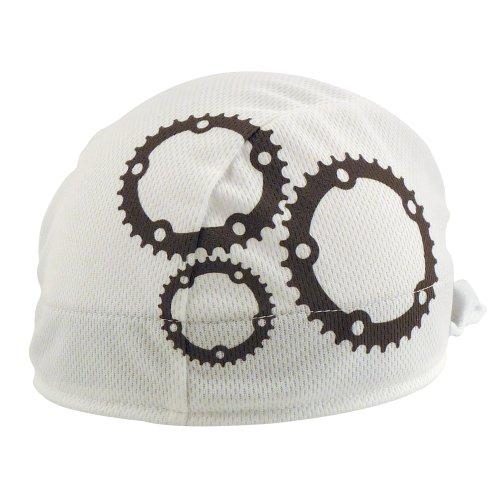 Shorty ciclismo Negro Gris Gris Blanco 8819 Gears de Gorro Headsweats dUaqU