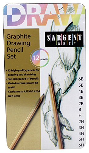 Sargent Art 22 7283 Graphite Drawing