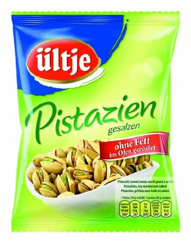 ültje Pistazien mit Schale, ohne Fett geröstet und gesalzen, 3er Pack (3 x 150 g)