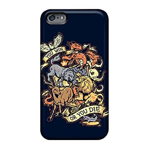 Apple Iphone 6s Plus DIv8715GPNK Custom High-definition Game Of Thrones Win Or Die Pictures Scratch Resistant Cell-phone Hard covers cases for Christmas and Happy New Year -88bestcase