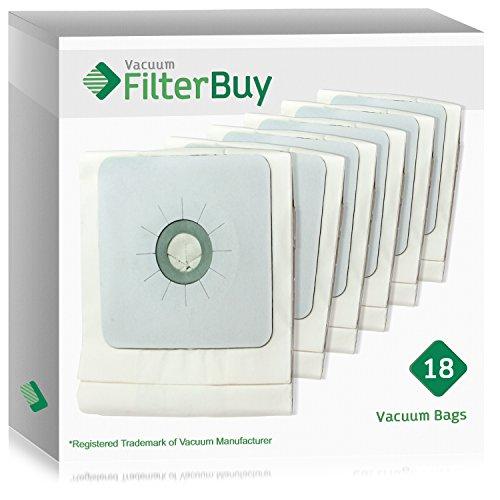 18 - FilterBuy Nutone 391 Central Vacuum Bags. Designed by FilterBuy to fit Nutone Central Vacuum (Nutone 391 Filter Bags)