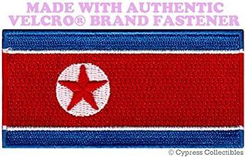 Corea del Norte Bandera Parche Bordado Kim Jong ONU il República ...