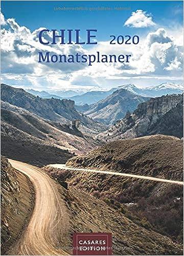 Livre pdf gratuit a telecharger en francais Chile Monatsplaner 2020 30x42cm