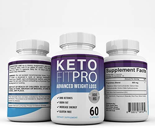 Keto Fit Pro Boost - Advanced Weight Loss with Metobolic Ketosis Support - 60 Capsules - 1 Month Supply 7