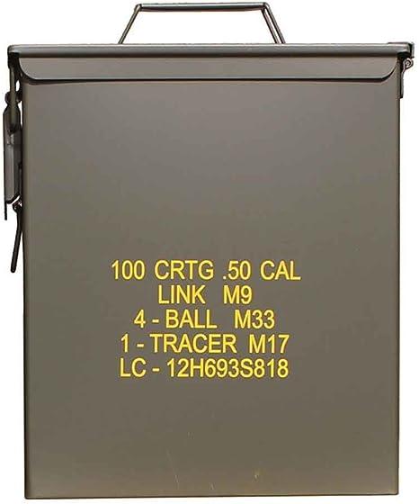 Mil-Tec EE.UU Caja de municiones Munición Caja M9: Amazon.es: Deportes y aire libre