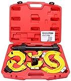 Automotive : 8milelake MacPherson Strut Spring Compressor Interchangeable Fork Coil Extractor Set