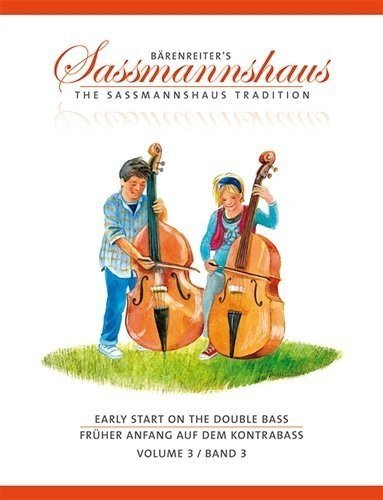 Sassmannshaus, Holger/Close, J. Peter - Early Start on the Double Bass - Volume 3 (Music Note Flash Cards For Violin)