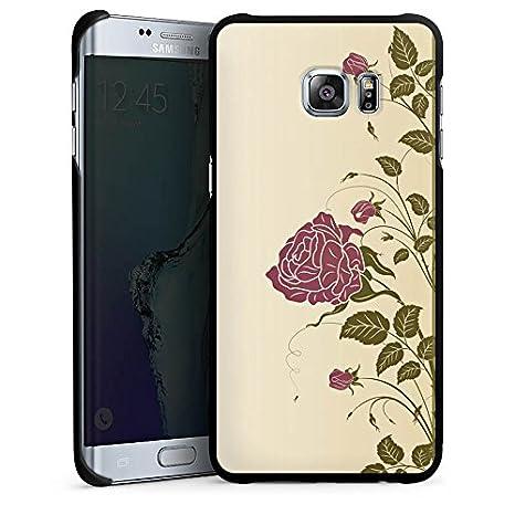 Carcasa Samsung Galaxy S2 rosas rosas rosas, Hard Case black ...