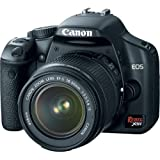 Canon Rebel XSi DSLR Camera with EF-S 18-55mm f/3.5-5.6 IS Lens