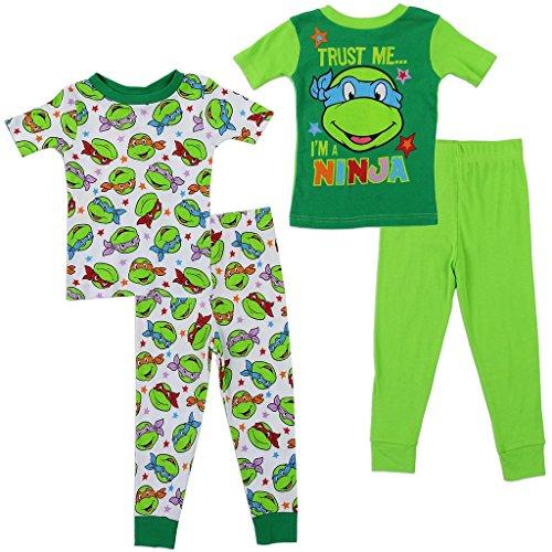 ninja turtles pajamas 2t - 8